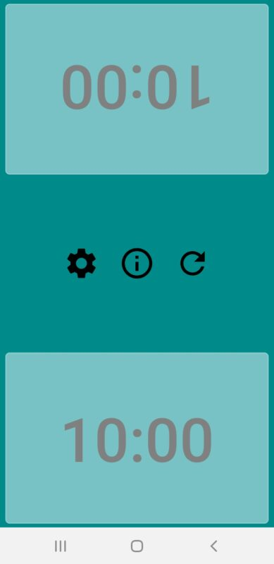 Aplikacja chess timer to również użyteczne narzędzie do odmierzania czasu partii szachowej.