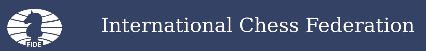 Międzynarodowa Federacja Szachowa FIDE ma motto Gens Una Sumus.
